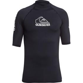 Quiksilver On Tour Camiseta Manga Corta Hombre, negro